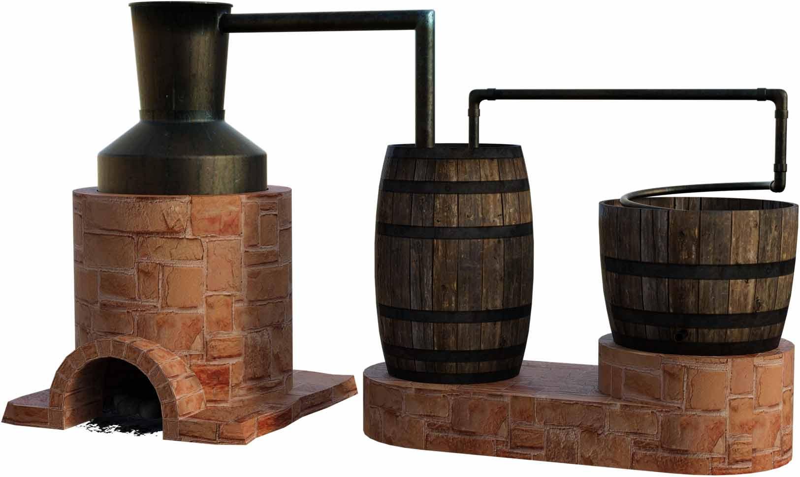 Alte-Destillationsanlage