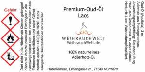 Laos-Oud-Flaschenlabel
