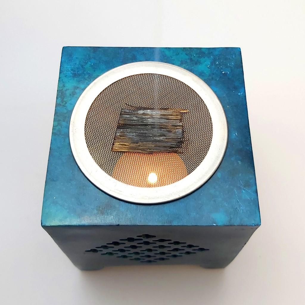 Stövchen Duftlampe mit Oud