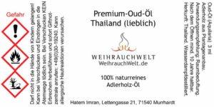 Thai-Oud-lieb-Flaschenlabel