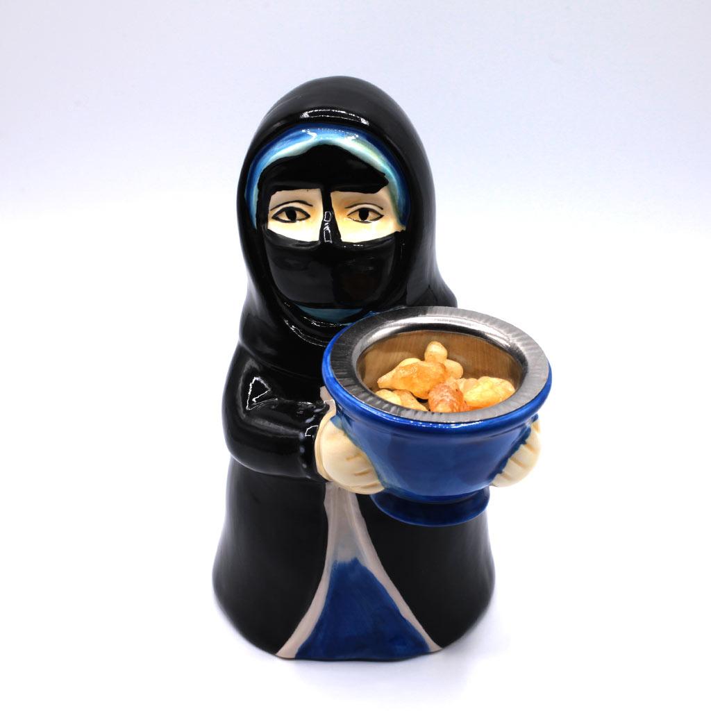 Weihrauchbrenner mit Burka